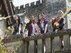 These Pics from the Disney Channel Original Movie 'The Descendants' Will Blow Your Mind