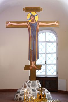 Crucifix, Feodorovsky Cathedral. (compare with next picture)