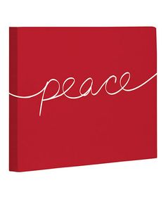 Invite holiday cheer into the home with this festive canvas. Its wintry charm is ready to hang and brings warmth to any room's décor. World Peace Day, Special Words, Cute Diys, Christian Quotes, Christmas Time, Invitations, Invite, Canvas Art, Projects To Try
