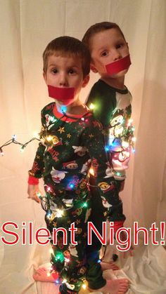 Christmas kids photo idea.. that's so happening for my christmas cards next year!