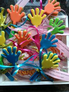 Klapperhandjes afscheid kinderdagverblijf