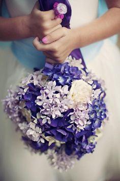 Boda hecho a mano violeta