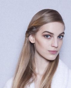 PFW Hair: Effortless '70s Beauty by Redken at Hermes F/W 2014