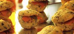 mini muffin com ervas