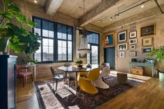 Attrayant Fascinating Loft Occupying An Old Flour Mill In Denver  Https://freshome.
