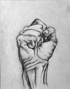 Original Figurative Charcoal Drawing by Jeff by JeffEiswerthArt check it out @west elm