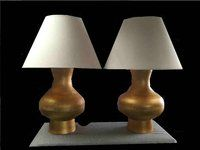 Impressive Gilt Lamps for sale