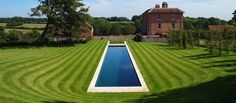 This classic planted natural swimming pool(Type 3) in Oxfordshire is 25m long and 2.6m at its deepest point. Tiled in natural slate it looks proud stood in the sweeping arcs of mown lawn around it. Featured in the November issue of House and Garden magazine in 2011, this huge pool has been the focus of | Read more...