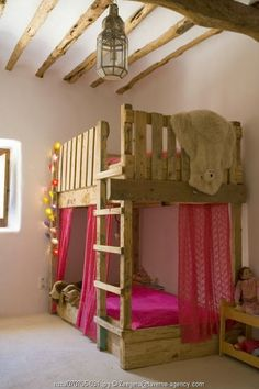 #children's spaces #Children's bedrooms #bunk beds - mommo design: BUNKS FOR GIRLS