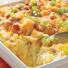 Baked Potato Casserole.