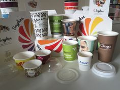 Scyphus, the UK Manufacturer of Printed Paper Cups. Ask for a Quote on any printed paper cup.