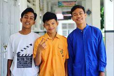 Tiga orang pemuda indonesia.  #temanfora - gilang wisakti (@gilangwisakti_)