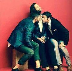 Jared, Jensen & Misha