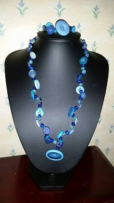 Check out this item in my Etsy shop https://www.etsy.com/uk/listing/246679326/mix-blue-button-y-style-necklace-and