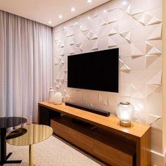 Tv Unit Decor, Tv Wall Decor, Kitchen Room Design, Home Room Design, Modern Tv Room, Pooja Room Door Design, Wall Design, Hall Interior Design, Living Room Tv Unit Designs