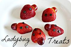 (9) RECIPE: grouchy ladybug treats  #WorldEricCarle #HungryCaterpillar