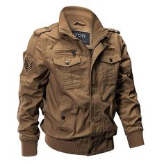 Outdoor Tactical Washed Cotton Plus Size Military Jackets - Banggood Mobile