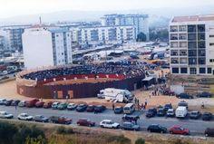 """Feira da Cebola (Frimor) na década de 1990. Foto: Jornal """"Região de Rio Maior""""   Portugal"""