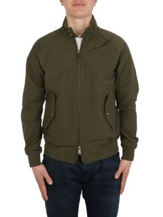 BARACUTA   G9 Harrington Jacket Mantel, Athletic, Zip, Jackets, Fashion, Fashion Styles, Down Jackets, Moda, Athlete