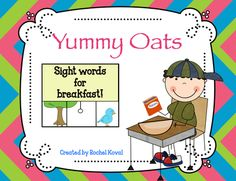 Sight Words- Yummy Oats from Rochel Koval on TeachersNotebook.com -  (25 pages)  - A fun, hands on way to practice sight words!