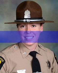 Officer Down: Trooper Brooke Jones-Story, Illinois State Police, was struck and killed by a tractor-trailer while conducting a traffic stop. Trooper Jones-Story had served with the Illinois State Police for 12 years and was assigned to District 16