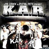 FREE SHIPPING 1 CENT CD: K.A.R.  by K.A.R./Joe Crack/Pistol Pete (May-2009 Koch) #Rap
