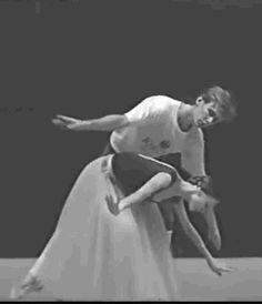 vaganovaballetandmore:  Young Svetlana Zakharova from rehearsal to performance.