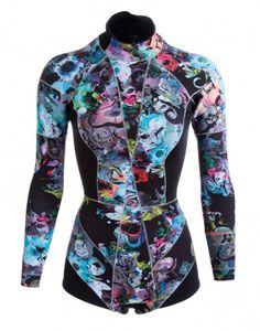 Cynthia Rowley wetsuit... #shopstylesummerfling