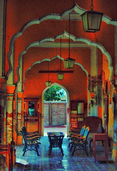 Arches in Pakistan. I would absolutely love to go to the middle east!