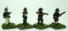 Trent Miniatures CHOUANS/VENDEANS with Muskets  FCHOU04