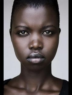 Nykhor Paul, a Sudanese Model