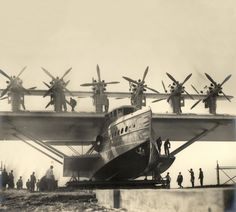 Igor Sikorsky, Airplane History, Aircraft Propeller, Flying Boat, Air Space, North Sea, Dieselpunk, World War I, Zeppelin