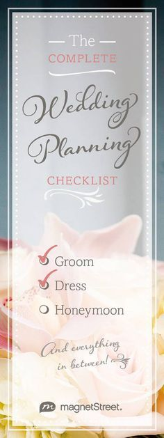 Free printable! Use this free wedding planning checklist to prioritize your wedding tasks month by month.