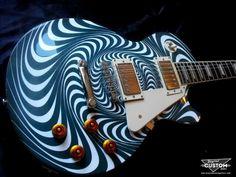 Swirly bird. BeyondCustom Guitars