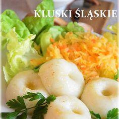 Przepis na udane kluski śląskie Eggs, Breakfast, Food, Morning Coffee, Essen, Egg, Meals, Yemek, Egg As Food