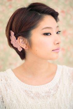 Short Asian hair style