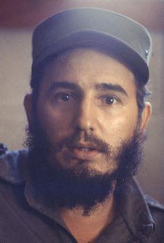 Colour Photo of Fidel Castro 1960's