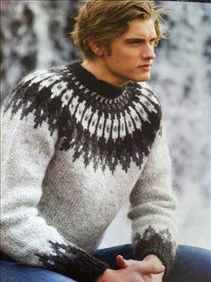 Mens wool sweater   by Mytwist