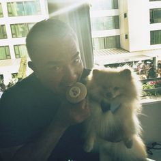 cesar millan with mr.benson