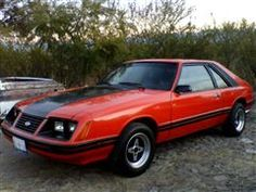 Ford mustang Hatchback 1984