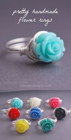 My doodlebug would love this ring. That's her fav color.
