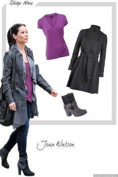 joan watson elementary - outfit