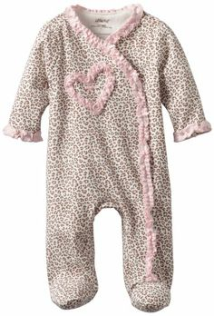 Little Me Baby Girl Newborn Leopard Footie ce38152d5