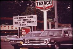 oil crisis 1973 signs | Photo Gallery: 1973-74 United States Oil Shortage Crisis, Vol. 1 ...