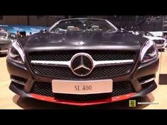 2015 Mercedes-Benz Sl-Class SL400 Mille Miglia Roadster - Walkaround - 2015 Geneva Motor Show - YouTube