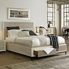 Universal Furniture Spencer Storage Platform Bed - Beds at Hayneedle
