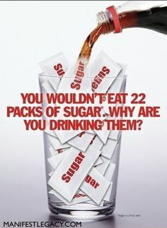 Soda = Sugar