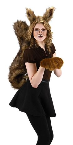 AmazonSmile: Elope Oversized Squirrel Tail: Clothing