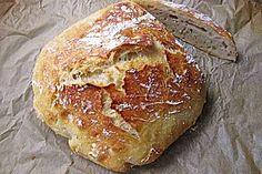 No Knead Bread (Rezept mit Bild) von cremona | Chefkoch.de
