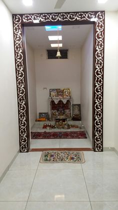Acrylic Cutting Pooja Room Design Mandir Puja Doors Easy